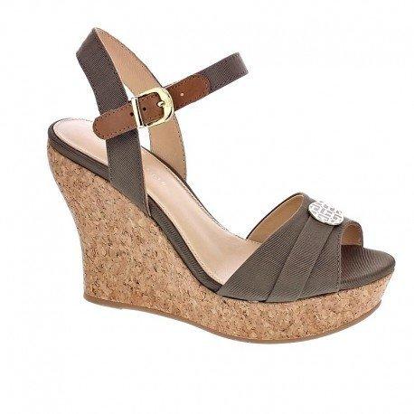 TOMMY HILFIGER Irene 10D, Women's Sandals, (TAUPE 255), (36 EU)