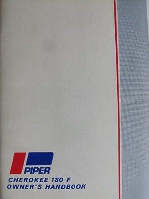 Cherokee 180 PA-28-180 Owner's Handbook (Piper 1973 Cherokee Challenger)