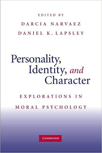 Personality, Identity, and Character: Explorations in Moral