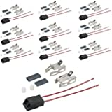 WB17X210 - GE Aftermarket Replacement Stove Heating Element / Surface Burner Receptacle Kit