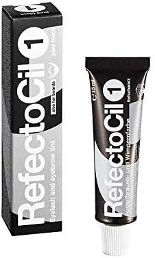 RefectoCil Sensitive Colour Gel (Black) .5 oz by RefectoCil