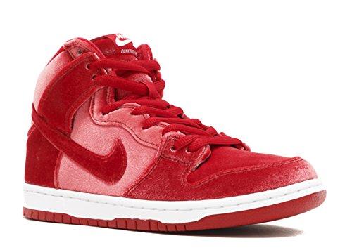 Nike Dunk High Womens - Nike Men's Dunk High Premium SB Skate Shoe 8.5 Red