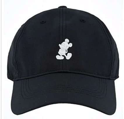 7177103ae72bf ... cheap disney parks mickey mouse nike black unisex baseball cap hat  05386 db910
