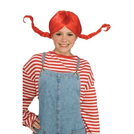 Pippi Costumes (Pippi Wig Adult Halloween)
