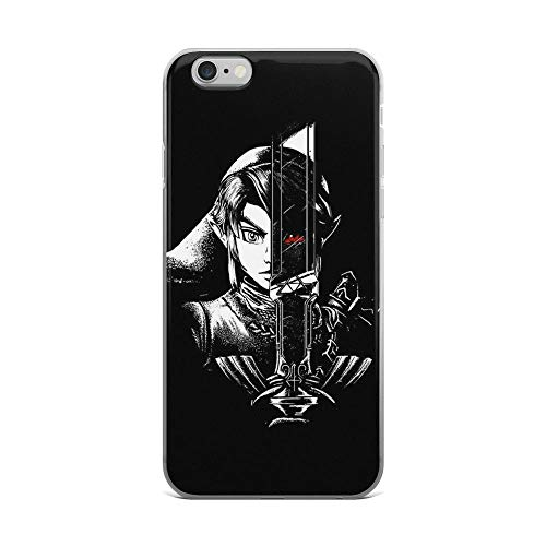 iPhone 6 Plus/6s Plus Pure Clear Case Cases Cover a Heros Dark Reflection Ritual Video Game Art -