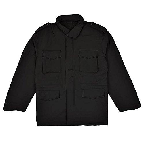 Soft Shell Tactical M-65 Jacket, Black, 2X