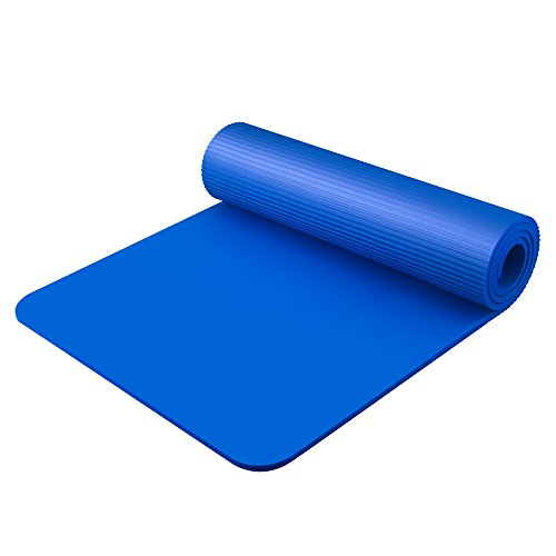 Bojing Yoga Mat Thick Nbr Multipurpose Multicolor