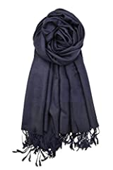 Our paisley pashmina shawl features tapestry ethnic paisley pattern and vibrant colors. They are very soft and rich showing off the beautiful elegant paisley designs. Unique vintage paisley pattern is double sided, and allows to match more ...
