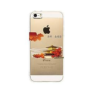GJ-JAPAN iPhone5 iPhone5S Transparent shell Temple of the Golden Pavilion