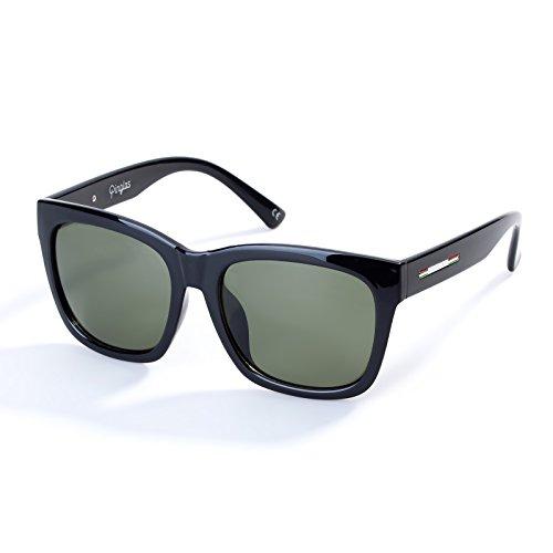 Colossein Classic Polarized Sunglasses For Men Square Frame Mirrored UV400 Lens