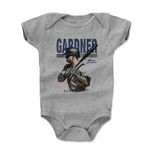500 LEVEL s Brett Gardner Baby Onesie 3-6M Heather Gray – Brett ... c7abe2968c3