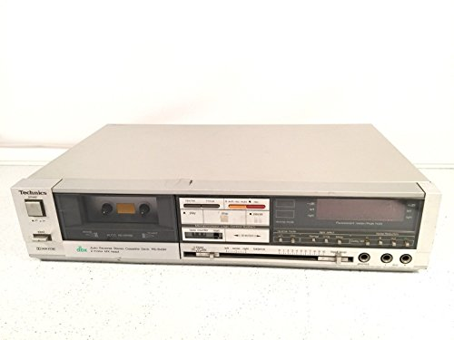 Technics Audio Cassette Player Recorder Vintage Deck Model RS-B84R Made In Japan by Technics