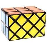 Diansheng 3x3 Ancient Double Fish Cube Black by Oikawa