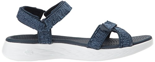 The On Women's Radiant Skechers Go Navy 600 Blue Sandaloi SS18 qAvU5nHnd