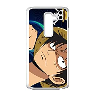 one piece luffy 2 LG G2 Cell Phone Case White Customized Items zhz9ke_7315575