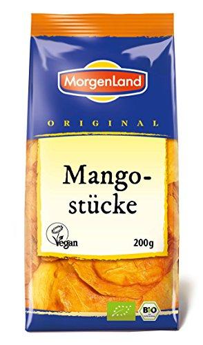 MorgenLand Bio-Mangostücke, 2er Pack (2 x 200 g)