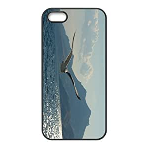 Flying Sea Mew Hight Quality Plastic Case for Iphone 5s