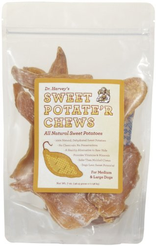 Dr. Harvey's FINE HEALTH FOODS 550044 7-Ounce Sweet Tate'R Chew for Pets, Medium/Large