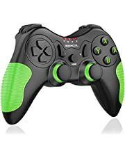 BEBONCOOL Wireless Controller for Nintendo Switch, Remote Game Controllers for Nintendo Switch Pro Controllers Accessories Splatoon 2 edition Xenoblade Chronic Super Smash bros Accessory Kits (Green)