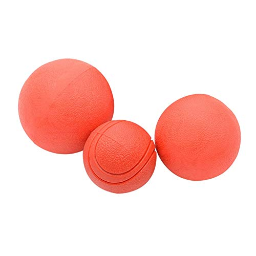 Portable Size Durable Rubber Bite-Resistant Pet Dogs Balls Safe Non-Toxic Training Balls for Pet Dogs Puppies