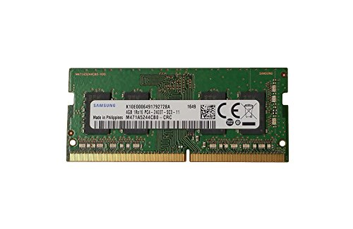 Review Samsung 4GB DDR4 PC4-19200, 2400MHz, 260 PIN SODIMM, CL 17, 1.2V, ram memory module, M471A5244CB0-CRC