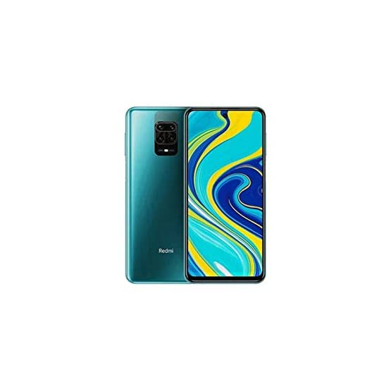 "Xiaomi Redmi Note 9S (128GB, 6GB) 6.67"", 4K Camera, 18W Fast Charge, 5020mAh Battery, Dual SIM GSM Unlocked 4G LTE (T-Mobile, AT&T, Metro, Cricket) International Model (Grey, 128GB SD + Case Bundle)"