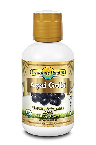 Dynamic Health Acai Gold Juice, 16-Ounce