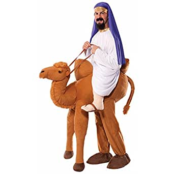 Forum Novelties Men's Ride-A-Camel Adult Costume, Multi, One Size