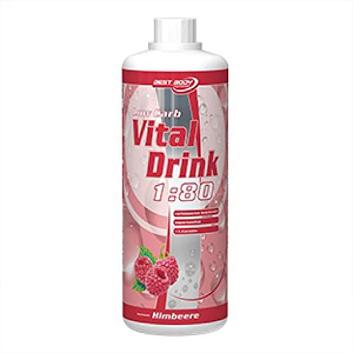 3 x Best Body Nutrition Vital Drink, 1L Flasche , Kräuterlimonade (3er Pack)