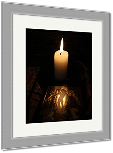 Ashley Framed Prints Divination By Tarot, Wall Art Home Decoration, Color, 40x34 (frame size), Silver Frame, AG6514357 by Ashley Framed Prints