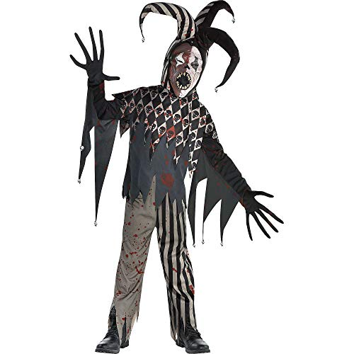 Twisted Jester Halloween Costume for Boys, Large, with Included Accessories, by Amscan