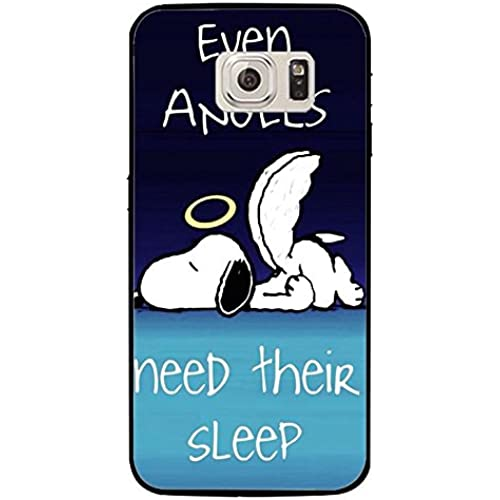 Angel Sleep Snoopy Phone Case Cover for Samsung Galaxy S7 Snoopy Cartoon Design Sales