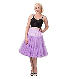 Hot Pink 50/'s Rockabilly Super Soft 26 inches Petticoat Skirt By Banned Apparel