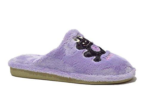 Cinzia Soft Ciabatte scarpe donna lilla P242