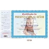 Certificado De Presentacion Al Senor [12-ct]