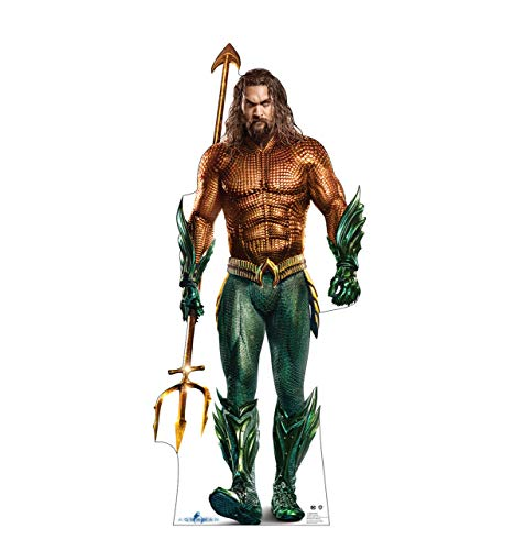 (Advanced Graphics Aquaman Life Size Cardboard Cutout Standup - Aquaman (Warner Bros 2018)