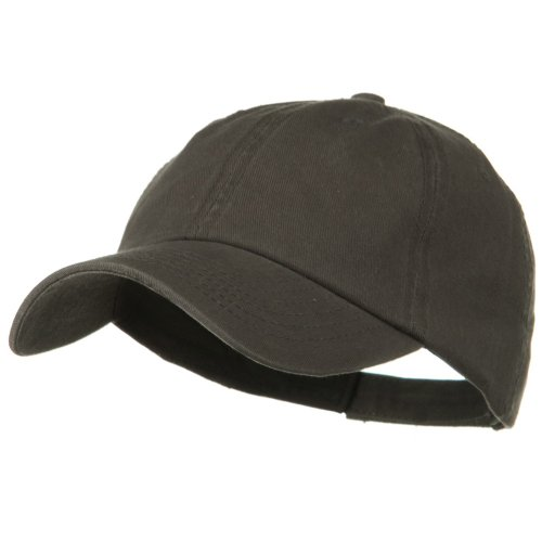 (Otto Caps Deluxe Garment Washed Cotton Twill Cap - Charcoal Grey)