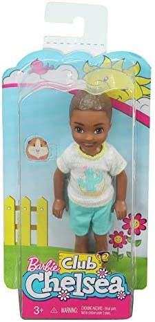 Bambola Barbie club Chelsea Nuovo Giallo e Blu Top e Gonna SCATOLA UN PO/'DANNEGGIATA