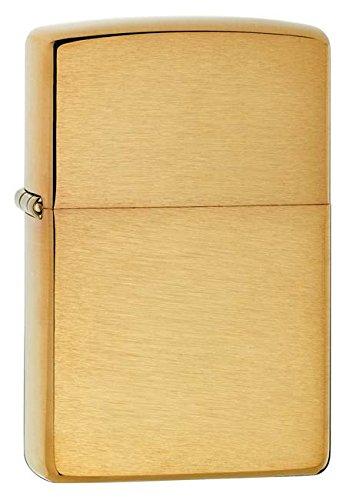 Zippo Pipe Lighter: Brushed Brass 204BPL