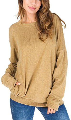 UGET Casual Sweatshirt Blouses Pockets product image