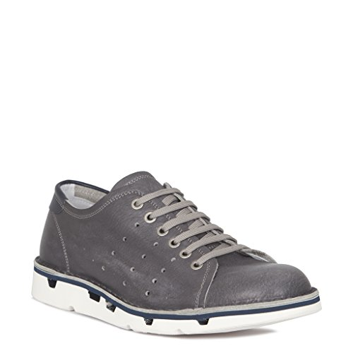 TJ Collection Men's Leather Lightweight Summer Sneakers RvQizyC