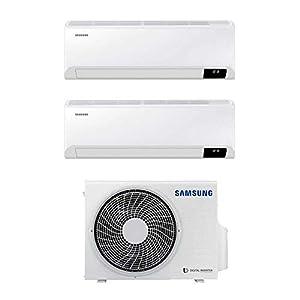 Climatizzatore Condizionatore Samsung Cebu Wi-Fi dual split 7+7 7000+7000 btu inverter A+++ in R32 AJ040TXJ2KG 41odZbES55L. SS300