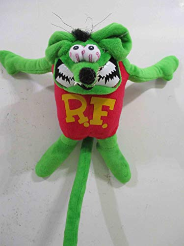 (American Collectibles Rat Fink Magnetic Plush Stuffed Toy, Bid Daddy Ed Roth)