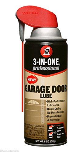 3-in-ONE Professional Garage Door Lubricant Spray, 11 Oz (Garage Door Opener Chain Lube)