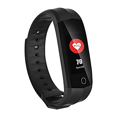 NDHUC Smart Wristband Fitness Bracelet Waterproof Heart Rate Tracker Color Lcd Screen Sleep Monitor For Ios Android Estimated Price £25.00 -