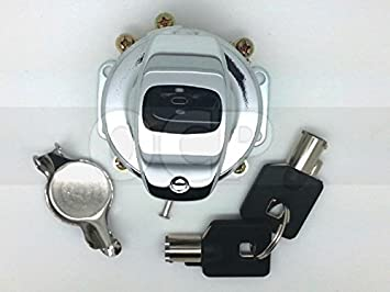 OEM 71501-73A 6 Pole Ignition Switch Harley Fat Bob Style Dashes 1984-1995 repl