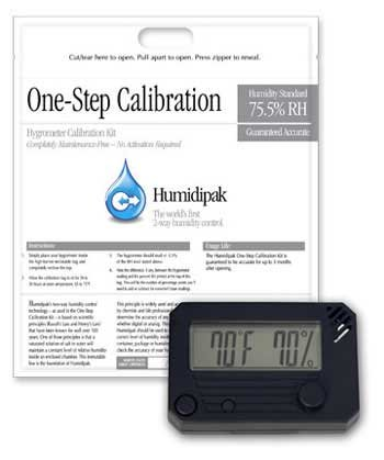 HygroSet Digital Hygrometer w/ Calibrating Kit by Hygroset