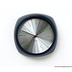 Karlsson Wall Clock - Aesthetic - Round, Blue Clock
