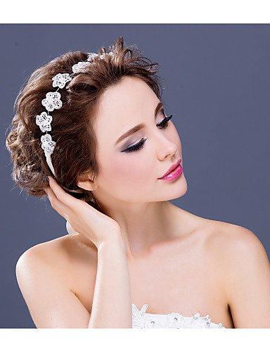 Cascos niña Tiare/brackets Matrimonio ocasiones especiales////Casual brillantes aleación perlas