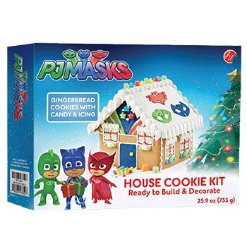 Gingerbread Kit House - Create A Treat PJ Masks House Cookie Kit
